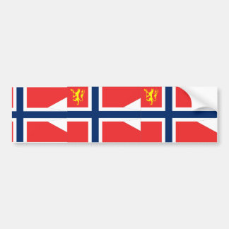 the Norwegian Chief Defence, Norway Car Bumper Sticker