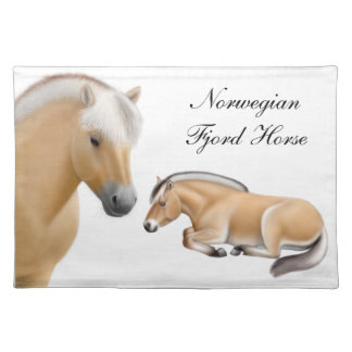 The Norwegian Fjord Horse Placemat