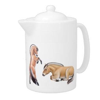 The Norwegian Fjord Horse Teapot
