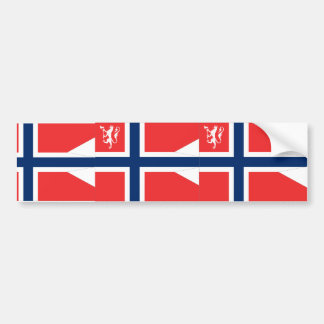 the Norwegian Minister Defence, Norway Car Bumper Sticker