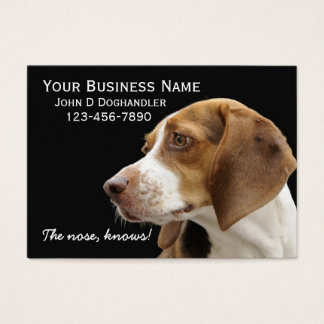 The Nose!  Doghandler Business Card