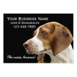 The Nose!  Doghandler Business Cards