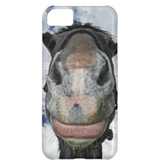 The Nose Knows Funny Horse Lips Photo iPhone 5C Cover