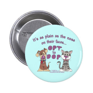 The Nose on Their Faces Pinback Buttons
