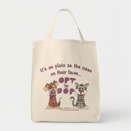 The Nose on Their Faces Grocery Tote Bag