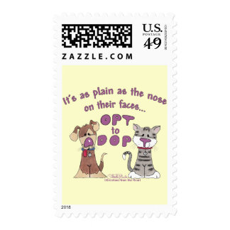 The Nose on Their Faces Postage
