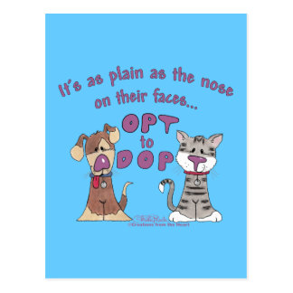 The Nose on Their Faces Postcard