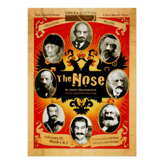 The Nose: Streetposter, 2009 Poster