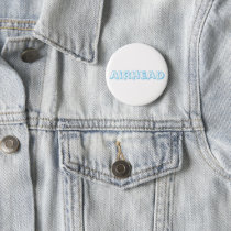 The Nostalgic Words and Phrases Airhead button