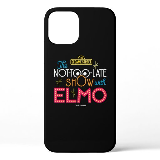 The Not-Too-Late Show with Elmo iPhone 12 Pro Case