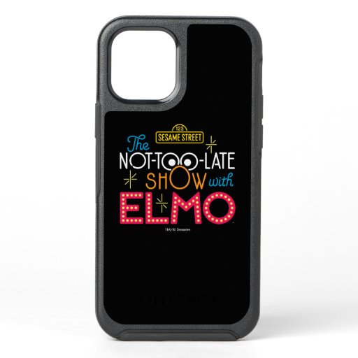 The Not-Too-Late Show with Elmo OtterBox Symmetry iPhone 12 Case