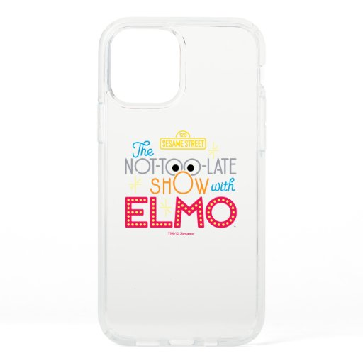 The Not-Too-Late Show with Elmo Speck iPhone 12 Pro Case