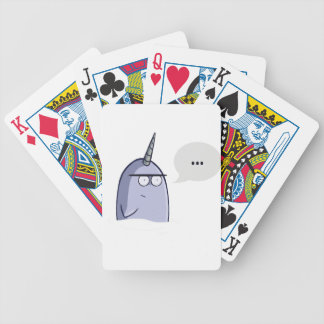 The Nothing Narwhal Poker Deck