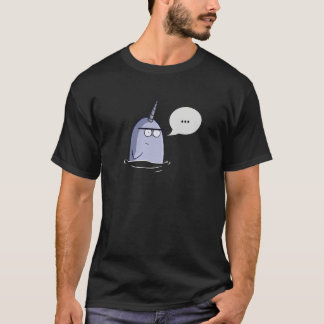 The Nothing Narwhal T-Shirt