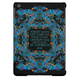 The Notorious Celtic Peacocks iPad Air Covers