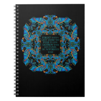 The Notorious Celtic Peacocks Notebook