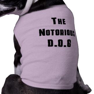 The Notorious D.O.G Shirts Pet T Shirt
