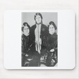 The Notorious Fox Sisters Mouse Pad