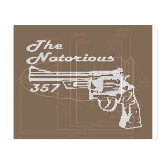 The Notorius 357 Postcard