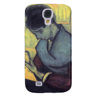 The novel reader by Vincent van Gogh Galaxy S4 Cover
