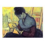 The novel reader by Vincent van Gogh Post Cards