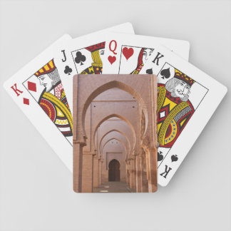 The now ruined and partly restored Tin Mal Mosque Playing Cards