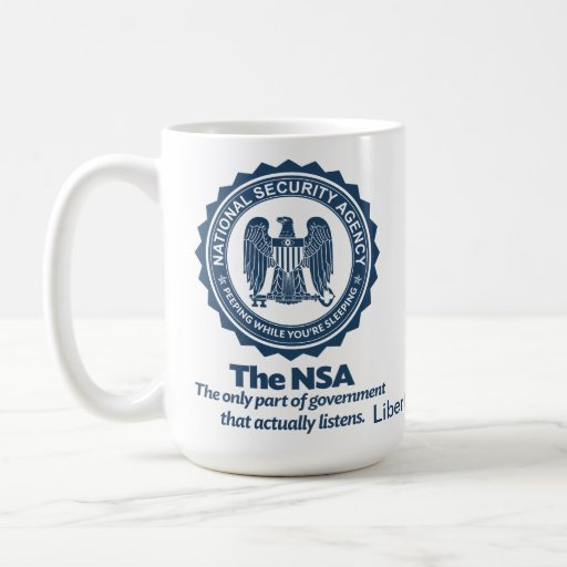 The NSA Coffee Mug