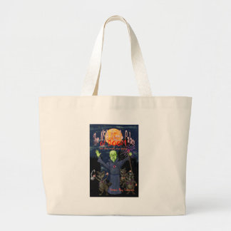 The NSA Puzzle Palace of Doom Large Tote Bag