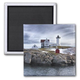 "The ""Nubble"" Cape Neddick lighthouse York, Maine Magnet"