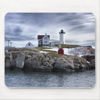"The ""Nubble"" Cape Neddick lighthouse York, Maine Mouse Pad"
