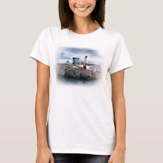 "The ""Nubble"" Cape Neddick lighthouse York, Maine T-Shirt"