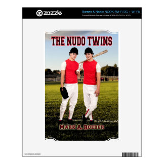 The Nudo Twins Decal For The NOOK
