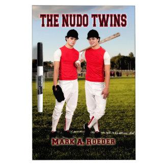 The Nudo Twins Dry-Erase Whiteboards