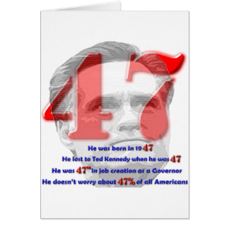 The Number 47 Greeting Card