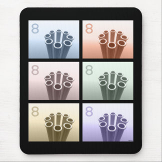 The Number Eight Mouse Pad