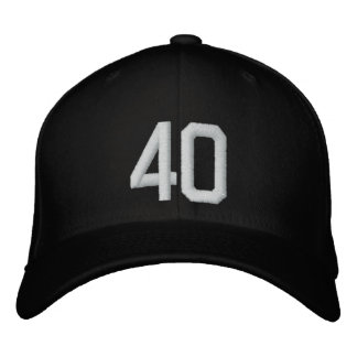 The Number Hat Embroidered Baseball Cap
