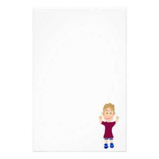 The Number One Kid Stationery