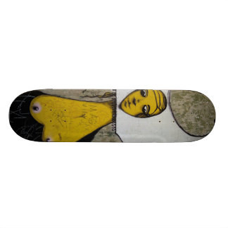 The nun with the naked centres - skateboard deck