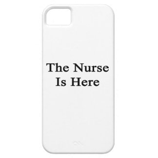 The Nurse Is Here iPhone 5 Case