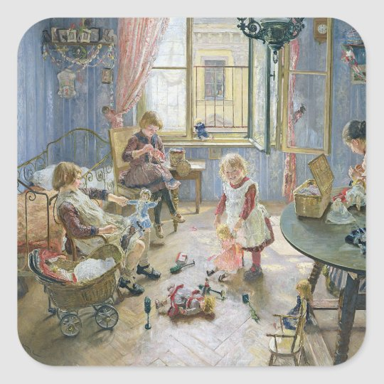 The Nursery, 1889 Square Sticker