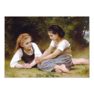 The Nut Gatherers by W.A. Bouguereau Card