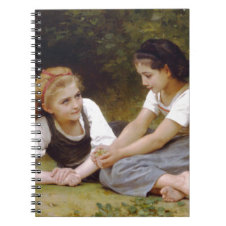 The Nut Gatherers by W.A. Bouguereau Notebook