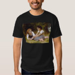 The Nut Gatherers by William Adolphe Bouguereau Tee Shirts