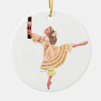 The Nutcracker Ballet Keepsake Ornament with Clara