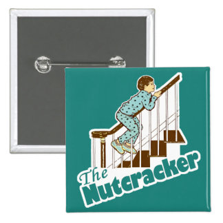 The Nutcracker Christmas 2 Inch Square Button