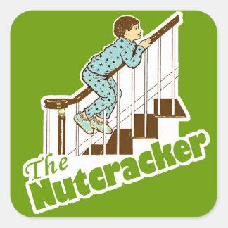 The Nutcracker Christmas Square Sticker