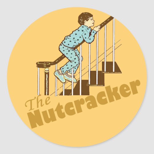 The Nutcracker Classic Round Sticker