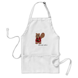the nutcracker in the kitchen adult apron