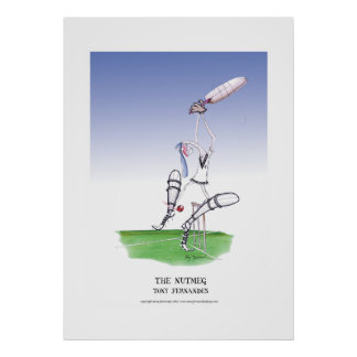 the nutmeg, tony fernandes poster