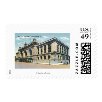 The NY Central Railroad Station # 2 Postage